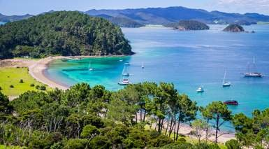 "Nueva Zelanda con Excursiones + Crucero ""Bay of Islands"""
