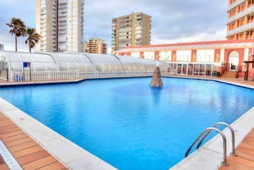 Schwimmbad Hotel Entremares La Manga del Mar Menor