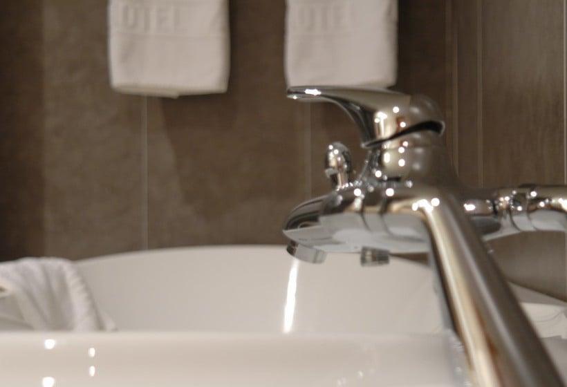Cuarto de baño Gran Hotel Zurbaran Badajoz
