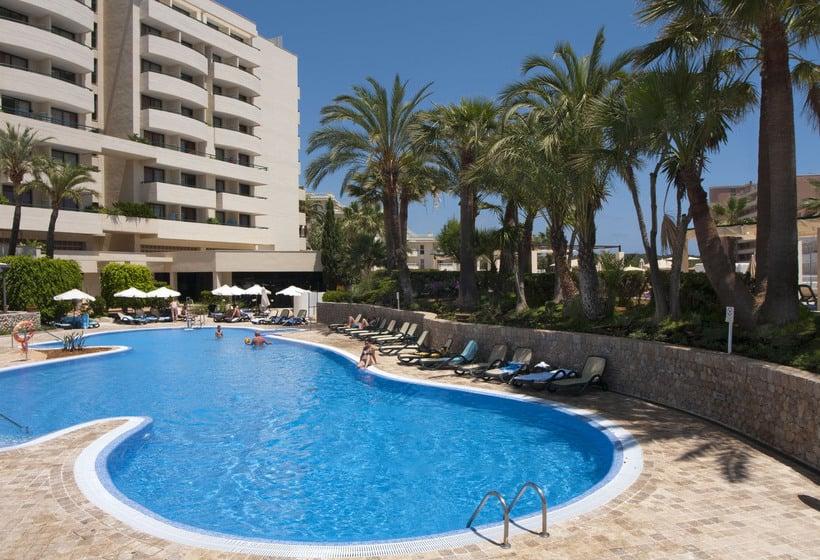 Zwembad Hipotels Marfil Playa Sa Coma