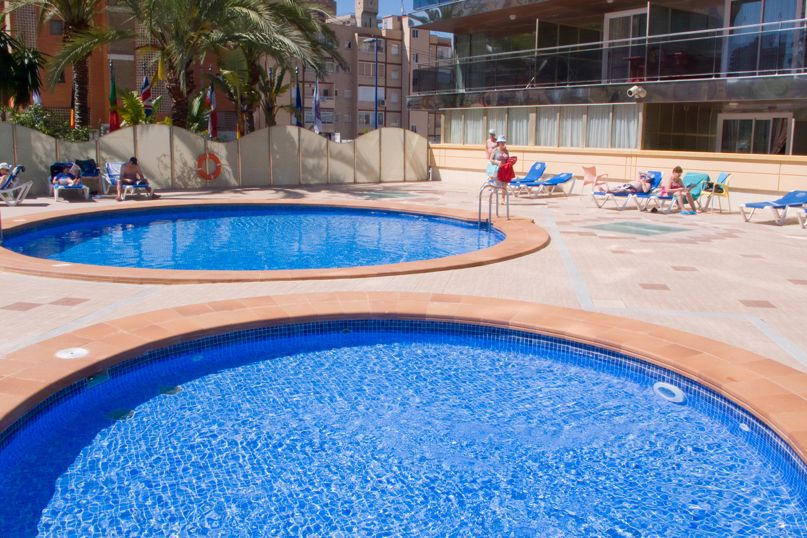 Piscine Hôtel Servigroup Diplomatic Benidorm