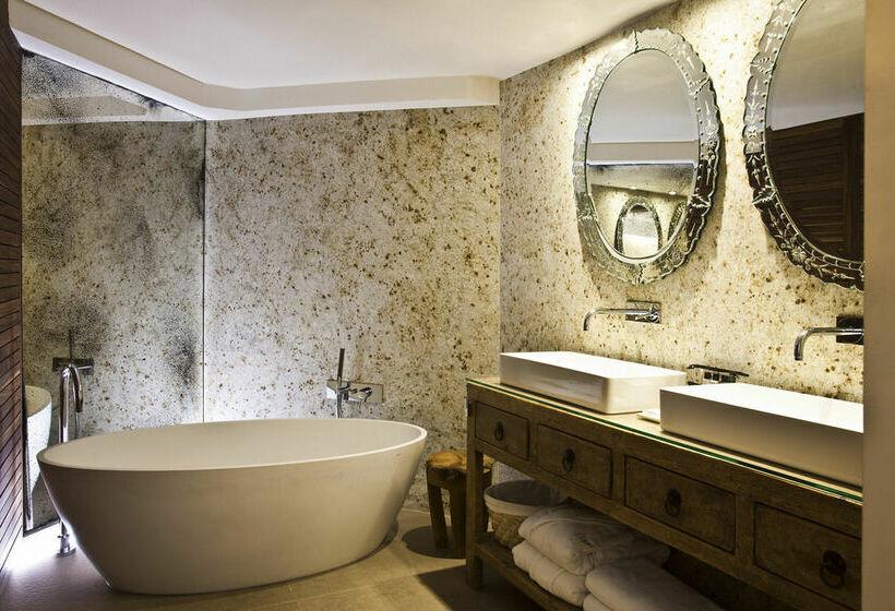 浴室 Claris Hotel バルセロナ