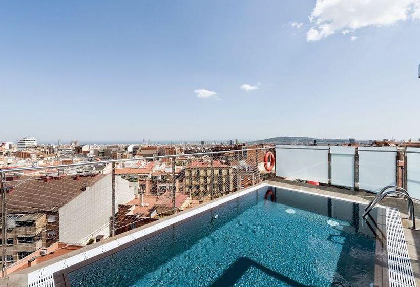 Piscina Hotel Catalonia Park Putxet Barcelona