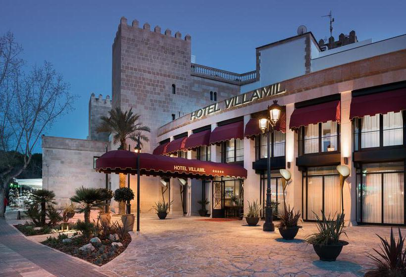 Aussenbereich Hotel Hesperia Mallorca Villamil Paguera