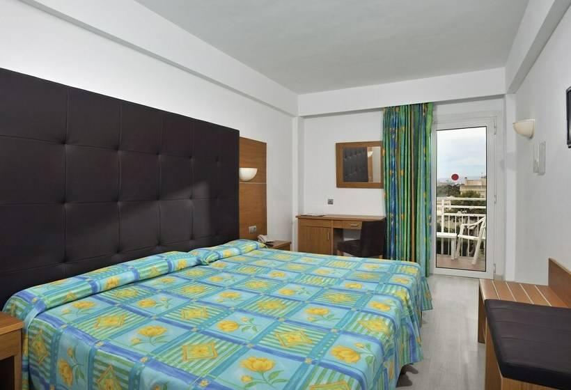 방 호텔 Hispania Platja de Palma