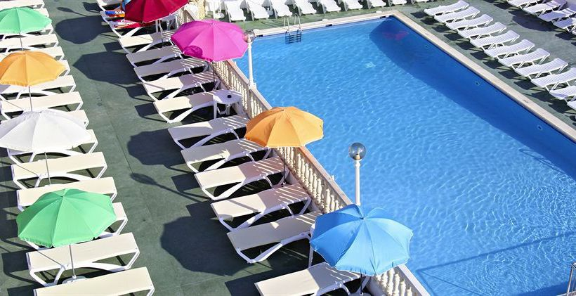 حمام سباحة فندق Sandos El Greco Beach - Adults Only كالا بورتيناتس