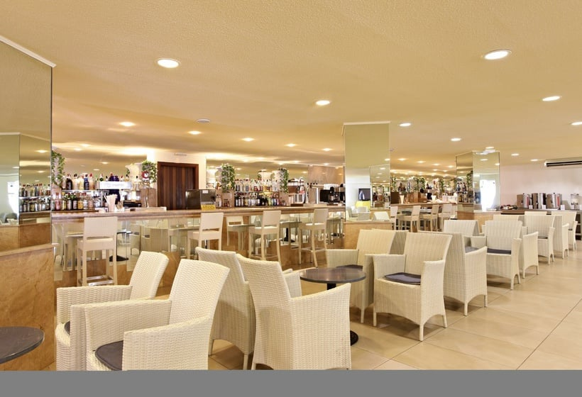 Cafeteria Hotel Sandos El Greco Beach - Adults Only Cala Portinatx