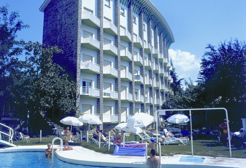 Swimming pool Gran Hotel Jaca
