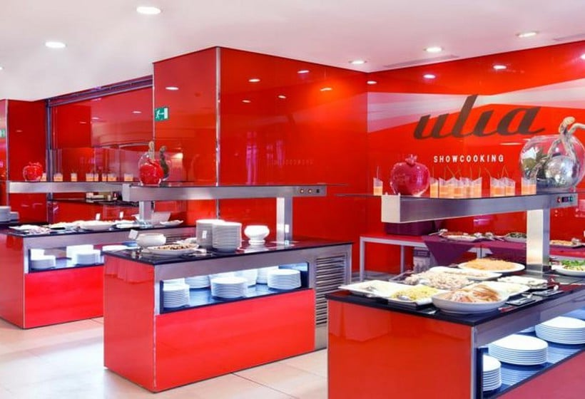 레스토랑 호텔 Barceló Costa Vasca 산세바스티안