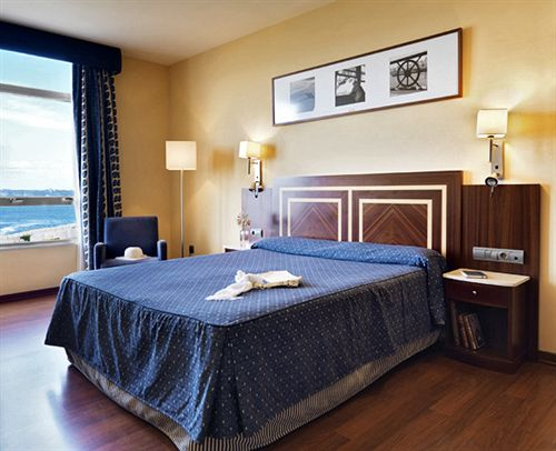 Zimmer Hotel Eurostars Ciudad de la Coruña La Corunya