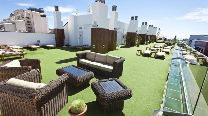 terraça Cantur City Hotel Las Palmas de Gran Canaria