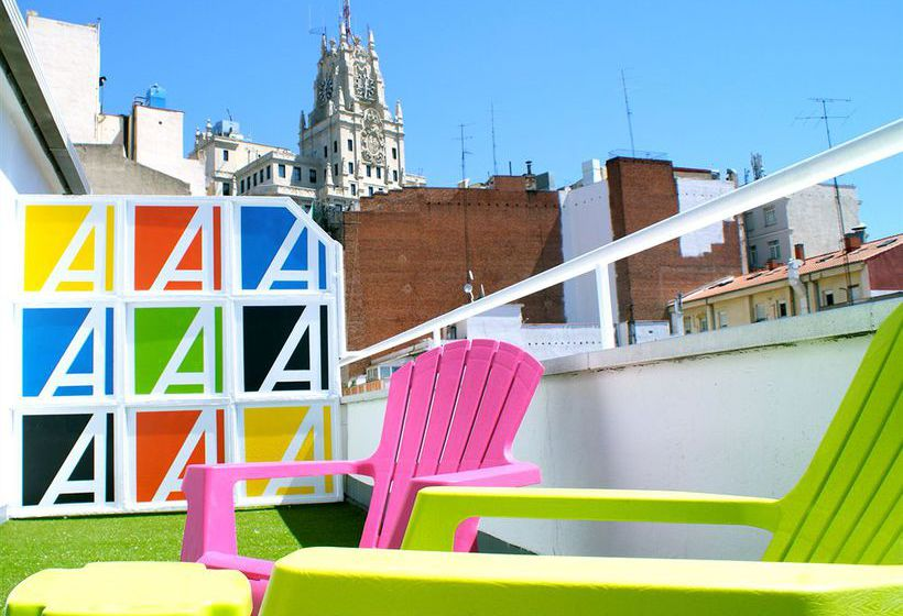 terraça Hotel Anaco Madrid