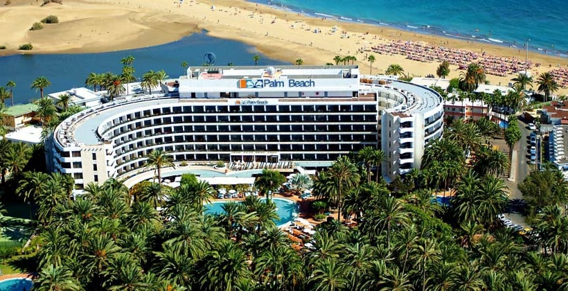 외관 Seaside Hotel Palm Beach Maspalomas