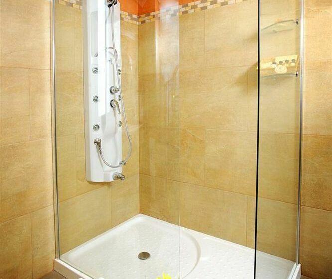 Bathroom Hotel Bécquer Sevilha
