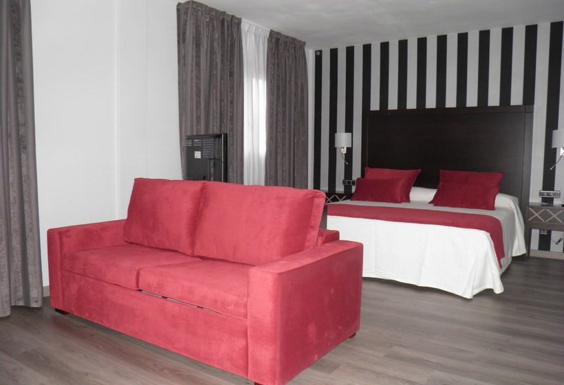 Chambre Hôtel Zentral Parque Valladolid