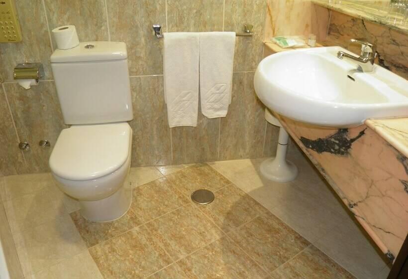 Salle de bain Hôtel Zentral Parque Valladolid