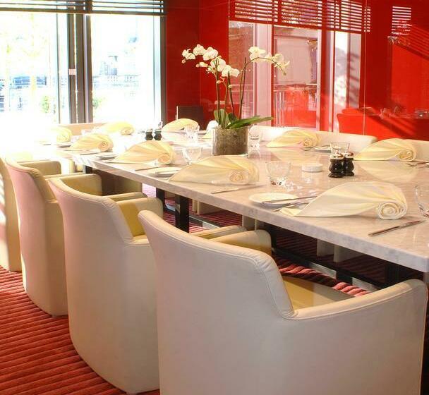 رستوران Radisson Blu Hotel Berlin برلين