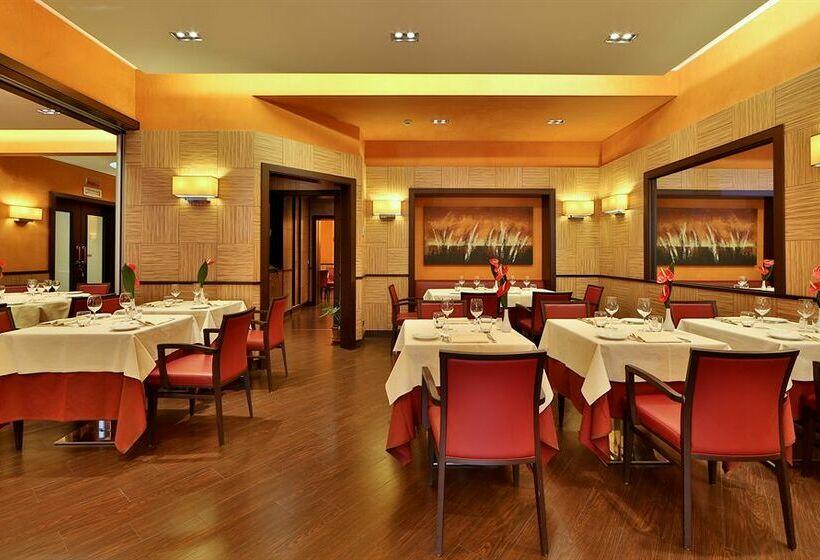 Restaurante Best Western Grand Hotel Adriatico Florencia