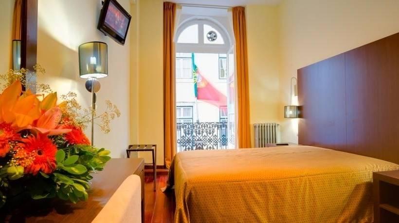 Zimmer Hotel Americano Lissabon