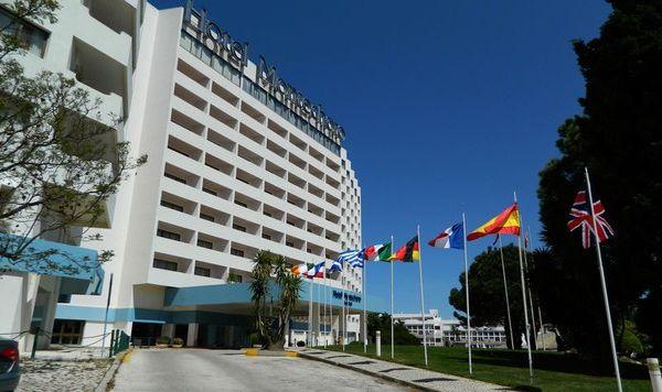 Extérieur Hôtel Montechoro Albufeira