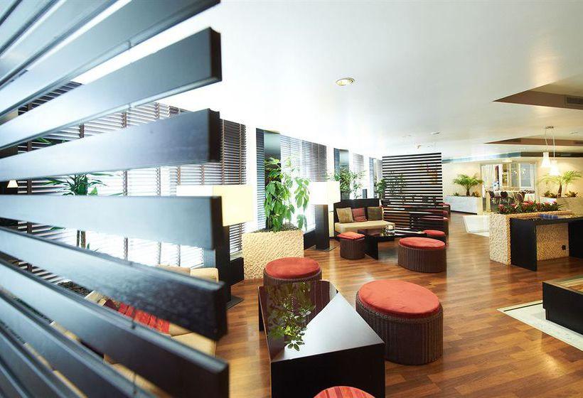 Espaces communs Hôtel Husa President Park Bruxelles