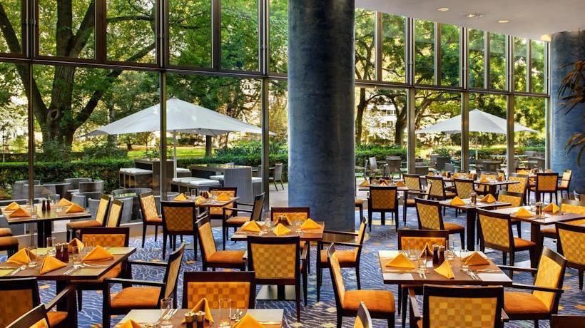 تراس فندق Hilton Frankfurt فرانكفورت