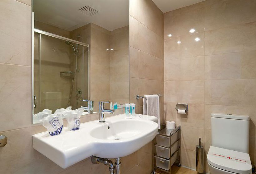 Bathroom فندق Eix Alcudia - Adults Only بورت د ألكوديا