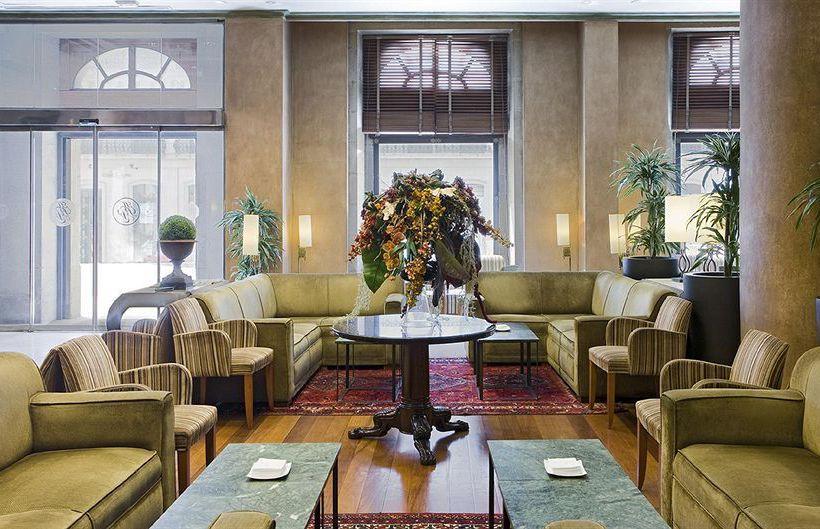 共同スペース ホテル NH Palacio de Vigo ビーゴ