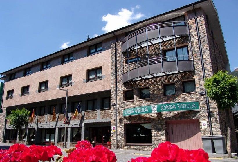 Aussenbereich Aparthotel Casa Vella Ordino