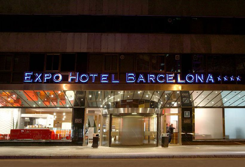 Outside Expo Hotel Barcelona
