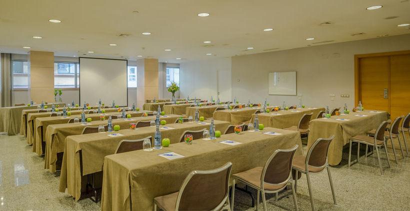 Salas de reuniões Hotel Hesperia A Coruña Corunha