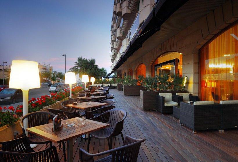 terraça Palas Pineda Hotel La Pineda