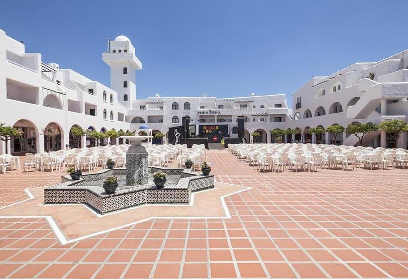 Terrasse Apartamentos Best Pueblo Indalo Mojacar