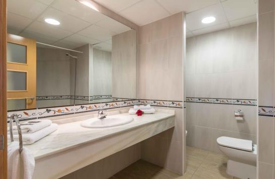 Salle de bain Complejo Eurhostal Alcocéber