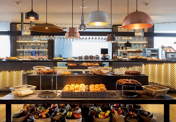 رستوران هتل AC Gran Canaria لاس پالماس جزایر قناری