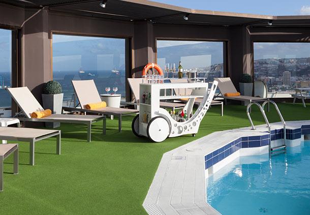 수영장 호텔 AC Gran Canaria 라스팔마스 데 그란 카나리아