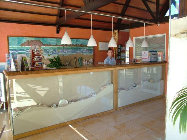 Réception Hôtel Arena Suite Fuerteventura Corralejo