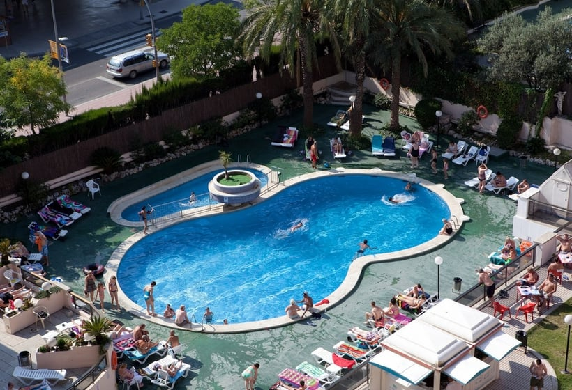 Schwimmbad Hotel H Top Gran Casino Royal Lloret de Mar