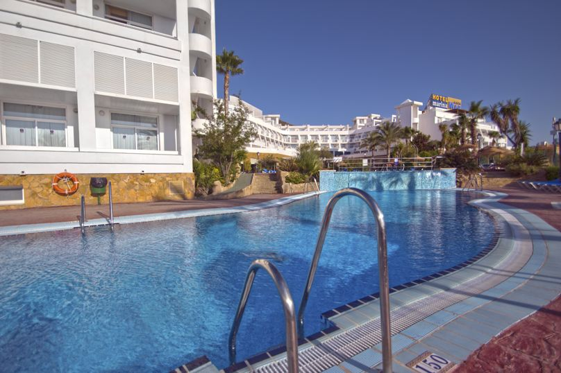 Swimming pool Hotel Servigroup Marina Mar Mojacar