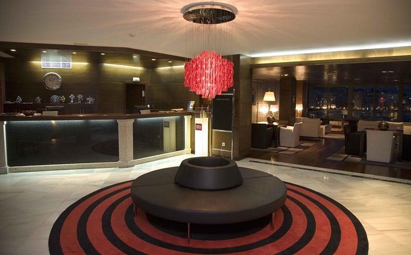 Reception Gran Talaso Hotel Sanxenxo