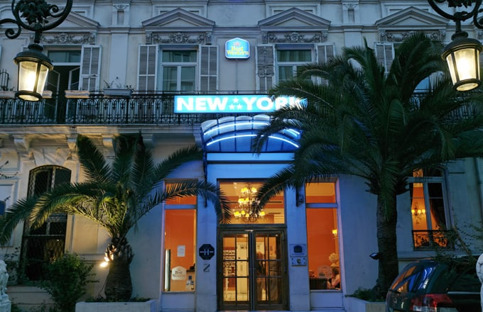 Hotel Best Western New York Nizza