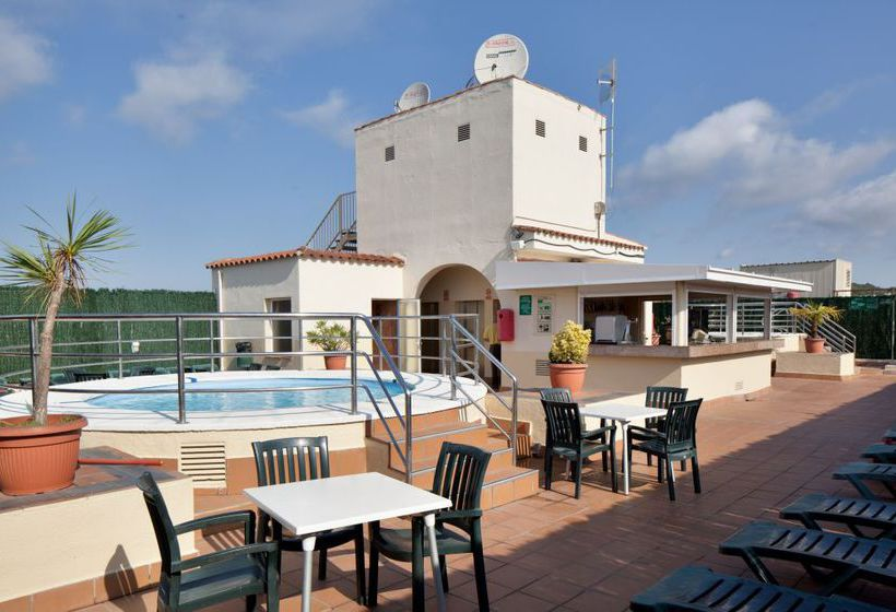 terraça Hotel H Top Royal Beach Lloret de Mar