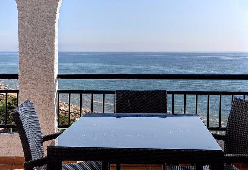Terrasse Apartamentos 1ª Linea Multiservicios Marina D'Or Oropesa del Mar