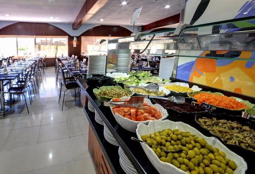 مطعم Apartamentos 1ª Linea Multiservicios Marina D'Or أوروبيسا ديل مار