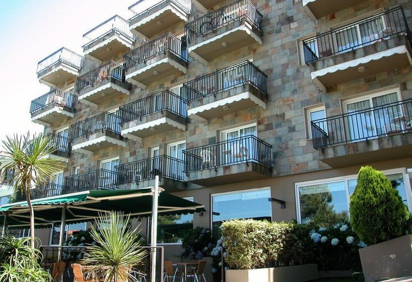 Aussenbereich Hotel Inffinit Sanxenxo