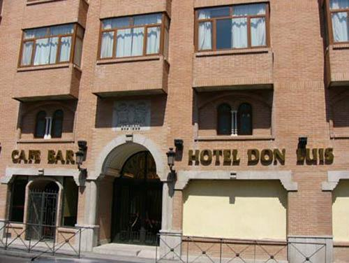 Exterior Hotel Don Luis Madrid