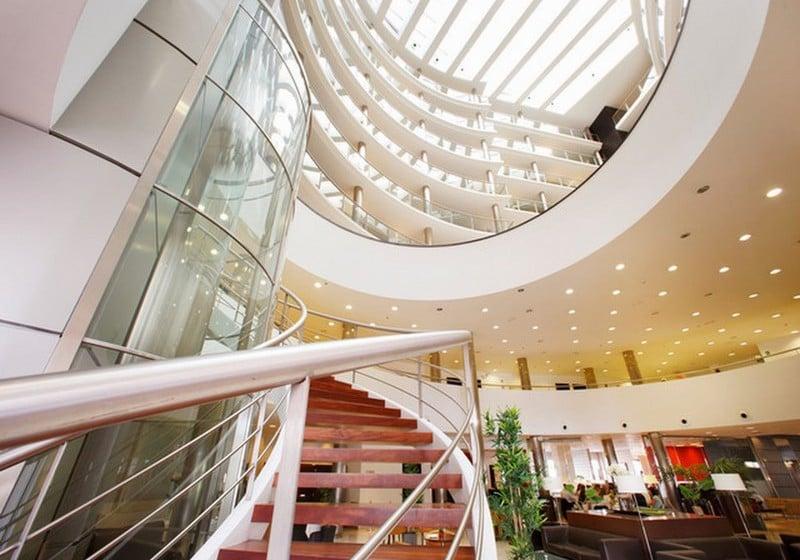 공용 공간 호텔 Attica 21 Coruña 라코루냐