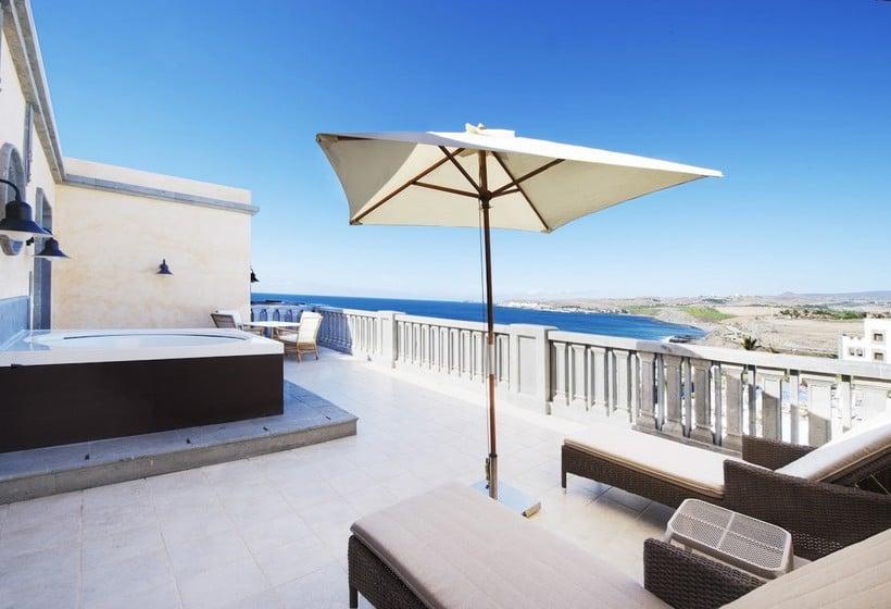 테라스 Lopesan Villa del Conde Resort & Thalasso Meloneras