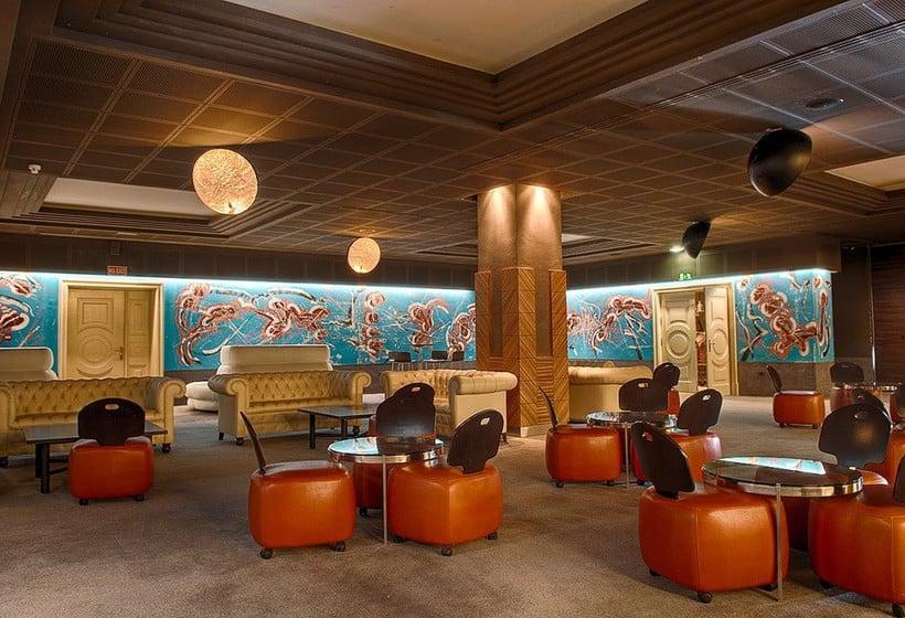 커피점 Lopesan Villa del Conde Resort & Thalasso Meloneras