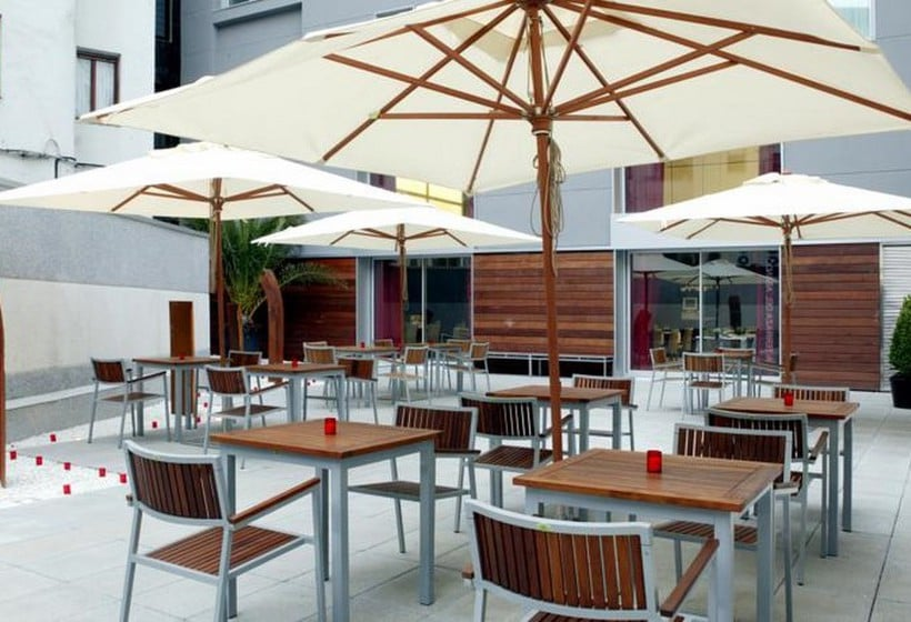 Terrace Hotel Zenit Bilbao